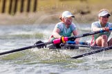 The Boat Race season 2016 -  The Cancer Research Women's Boat Race. River Thames between Putney Bridge and Mortlake, London SW15,  United Kingdom, on 27 March 2016 at 14:20, image #241