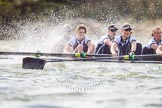 The Boat Race season 2016 -  The Cancer Research Women's Boat Race. River Thames between Putney Bridge and Mortlake, London SW15,  United Kingdom, on 27 March 2016 at 14:21, image #243
