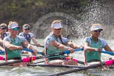 The Boat Race season 2016 -  The Cancer Research Women's Boat Race. River Thames between Putney Bridge and Mortlake, London SW15,  United Kingdom, on 27 March 2016 at 14:21, image #246