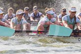 The Boat Race season 2016 -  The Cancer Research Women's Boat Race. River Thames between Putney Bridge and Mortlake, London SW15,  United Kingdom, on 27 March 2016 at 14:21, image #247