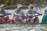 The Boat Race season 2016 -  The Cancer Research Women's Boat Race. River Thames between Putney Bridge and Mortlake, London SW15,  United Kingdom, on 27 March 2016 at 14:21, image #250