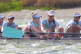 The Boat Race season 2016 -  The Cancer Research Women's Boat Race. River Thames between Putney Bridge and Mortlake, London SW15,  United Kingdom, on 27 March 2016 at 14:21, image #251