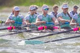 The Boat Race season 2016 -  The Cancer Research Women's Boat Race. River Thames between Putney Bridge and Mortlake, London SW15,  United Kingdom, on 27 March 2016 at 14:21, image #254