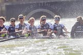 The Boat Race season 2016 -  The Cancer Research Women's Boat Race. River Thames between Putney Bridge and Mortlake, London SW15,  United Kingdom, on 27 March 2016 at 14:22, image #263