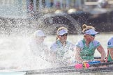 The Boat Race season 2016 -  The Cancer Research Women's Boat Race. River Thames between Putney Bridge and Mortlake, London SW15,  United Kingdom, on 27 March 2016 at 14:22, image #266