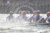 The Boat Race season 2016 -  The Cancer Research Women's Boat Race. River Thames between Putney Bridge and Mortlake, London SW15,  United Kingdom, on 27 March 2016 at 14:22, image #267