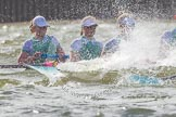 The Boat Race season 2016 -  The Cancer Research Women's Boat Race. River Thames between Putney Bridge and Mortlake, London SW15,  United Kingdom, on 27 March 2016 at 14:22, image #270
