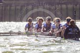 The Boat Race season 2016 -  The Cancer Research Women's Boat Race. River Thames between Putney Bridge and Mortlake, London SW15,  United Kingdom, on 27 March 2016 at 14:22, image #274