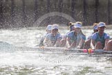 The Boat Race season 2016 -  The Cancer Research Women's Boat Race. River Thames between Putney Bridge and Mortlake, London SW15,  United Kingdom, on 27 March 2016 at 14:23, image #276