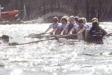 The Boat Race season 2016 -  The Cancer Research Women's Boat Race. River Thames between Putney Bridge and Mortlake, London SW15,  United Kingdom, on 27 March 2016 at 14:23, image #278