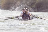 The Boat Race season 2016 -  The Cancer Research Women's Boat Race. River Thames between Putney Bridge and Mortlake, London SW15,  United Kingdom, on 27 March 2016 at 14:24, image #281