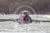 The Boat Race season 2016 -  The Cancer Research Women's Boat Race. River Thames between Putney Bridge and Mortlake, London SW15,  United Kingdom, on 27 March 2016 at 14:24, image #282