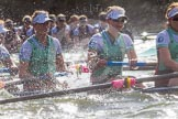The Boat Race season 2016 -  The Cancer Research Women's Boat Race. River Thames between Putney Bridge and Mortlake, London SW15,  United Kingdom, on 27 March 2016 at 14:25, image #285