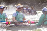 The Boat Race season 2016 -  The Cancer Research Women's Boat Race. River Thames between Putney Bridge and Mortlake, London SW15,  United Kingdom, on 27 March 2016 at 14:25, image #286