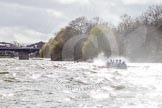 The Boat Race season 2016 -  The Cancer Research Women's Boat Race. River Thames between Putney Bridge and Mortlake, London SW15,  United Kingdom, on 27 March 2016 at 14:26, image #292