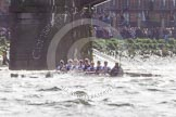 The Boat Race season 2016 -  The Cancer Research Women's Boat Race. River Thames between Putney Bridge and Mortlake, London SW15,  United Kingdom, on 27 March 2016 at 14:28, image #297