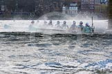 The Boat Race season 2016 -  The Cancer Research Women's Boat Race. River Thames between Putney Bridge and Mortlake, London SW15,  United Kingdom, on 27 March 2016 at 14:29, image #300