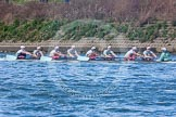 The Boat Race season 2016 -  The Cancer Research Women's Boat Race. River Thames between Putney Bridge and Mortlake, London SW15,  United Kingdom, on 27 March 2016 at 14:32, image #307