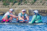 The Boat Race season 2016 -  The Cancer Research Women's Boat Race. River Thames between Putney Bridge and Mortlake, London SW15,  United Kingdom, on 27 March 2016 at 14:32, image #308