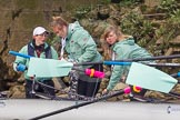 The Boat Race season 2016 -  The Cancer Research Women's Boat Race. River Thames between Putney Bridge and Mortlake, London SW15,  United Kingdom, on 27 March 2016 at 14:40, image #320