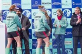 The Boat Race season 2016 -  The Cancer Research Women's Boat Race. River Thames between Putney Bridge and Mortlake, London SW15,  United Kingdom, on 27 March 2016 at 14:46, image #330