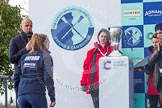 The Boat Race season 2016 -  The Cancer Research Women's Boat Race. River Thames between Putney Bridge and Mortlake, London SW15,  United Kingdom, on 27 March 2016 at 14:47, image #339