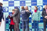 The Boat Race season 2016 -  The Cancer Research Women's Boat Race. River Thames between Putney Bridge and Mortlake, London SW15,  United Kingdom, on 27 March 2016 at 14:47, image #340