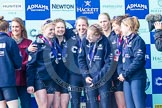 The Boat Race season 2016 -  The Cancer Research Women's Boat Race. River Thames between Putney Bridge and Mortlake, London SW15,  United Kingdom, on 27 March 2016 at 14:48, image #342