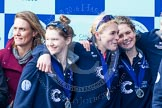 The Boat Race season 2016 -  The Cancer Research Women's Boat Race. River Thames between Putney Bridge and Mortlake, London SW15,  United Kingdom, on 27 March 2016 at 14:48, image #343