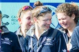 The Boat Race season 2016 -  The Cancer Research Women's Boat Race. River Thames between Putney Bridge and Mortlake, London SW15,  United Kingdom, on 27 March 2016 at 14:49, image #377