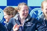 The Boat Race season 2016 -  The Cancer Research Women's Boat Race. River Thames between Putney Bridge and Mortlake, London SW15,  United Kingdom, on 27 March 2016 at 14:49, image #378