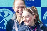 The Boat Race season 2016 -  The Cancer Research Women's Boat Race. River Thames between Putney Bridge and Mortlake, London SW15,  United Kingdom, on 27 March 2016 at 14:49, image #379