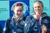 The Boat Race season 2016 -  The Cancer Research Women's Boat Race. River Thames between Putney Bridge and Mortlake, London SW15,  United Kingdom, on 27 March 2016 at 14:50, image #381