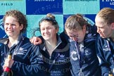 The Boat Race season 2016 -  The Cancer Research Women's Boat Race. River Thames between Putney Bridge and Mortlake, London SW15,  United Kingdom, on 27 March 2016 at 14:50, image #383