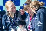 The Boat Race season 2016 -  The Cancer Research Women's Boat Race. River Thames between Putney Bridge and Mortlake, London SW15,  United Kingdom, on 27 March 2016 at 14:50, image #386