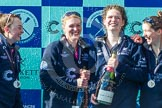 The Boat Race season 2016 -  The Cancer Research Women's Boat Race. River Thames between Putney Bridge and Mortlake, London SW15,  United Kingdom, on 27 March 2016 at 14:50, image #388
