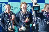 The Boat Race season 2016 -  The Cancer Research Women's Boat Race. River Thames between Putney Bridge and Mortlake, London SW15,  United Kingdom, on 27 March 2016 at 14:50, image #390