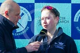 The Boat Race season 2016 -  The Cancer Research Women's Boat Race. River Thames between Putney Bridge and Mortlake, London SW15,  United Kingdom, on 27 March 2016 at 14:51, image #394