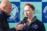 The Boat Race season 2016 -  The Cancer Research Women's Boat Race. River Thames between Putney Bridge and Mortlake, London SW15,  United Kingdom, on 27 March 2016 at 14:51, image #403