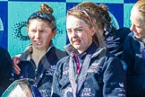 The Boat Race season 2016 -  The Cancer Research Women's Boat Race. River Thames between Putney Bridge and Mortlake, London SW15,  United Kingdom, on 27 March 2016 at 14:51, image #395