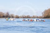 The Boat Race season 2016 -  The Cancer Research Women's Boat Race. River Thames between Putney Bridge and Mortlake, London SW15,  United Kingdom, on 27 March 2016 at 11:20, image #19
