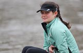 The Boat Race season 2018 - Women's Boat Race Trial Eights (CUWBC, Cambridge): Eve Caroe (bow) in Expecto Patronum. River Thames between Putney Bridge and Mortlake, London SW15,  United Kingdom, on 05 December 2017 at 12:02, image #8