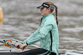 The Boat Race season 2018 - Women's Boat Race Trial Eights (CUWBC, Cambridge): Sarah Carlotti (2) in Wingardium Leviosa. River Thames between Putney Bridge and Mortlake, London SW15,  United Kingdom, on 05 December 2017 at 12:03, image #14