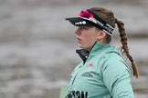 The Boat Race season 2018 - Women's Boat Race Trial Eights (CUWBC, Cambridge): Emma Andrews (4) in Wingardium Leviosa. River Thames between Putney Bridge and Mortlake, London SW15,  United Kingdom, on 05 December 2017 at 12:03, image #16