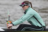 The Boat Race season 2018 - Women's Boat Race Trial Eights (CUWBC, Cambridge): Emma Andrews (4) in Wingardium Leviosa. River Thames between Putney Bridge and Mortlake, London SW15,  United Kingdom, on 05 December 2017 at 12:03, image #17