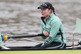 The Boat Race season 2018 - Women's Boat Race Trial Eights (CUWBC, Cambridge): Larkin Sayre (6) in Wingardium Leviosa. River Thames between Putney Bridge and Mortlake, London SW15,  United Kingdom, on 05 December 2017 at 12:03, image #20