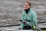 The Boat Race season 2018 - Women's Boat Race Trial Eights (CUWBC, Cambridge): Myriam Goudet-Boukhatmi (7) in Wingardium Leviosa. River Thames between Putney Bridge and Mortlake, London SW15,  United Kingdom, on 05 December 2017 at 12:03, image #21