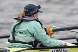 The Boat Race season 2018 - Women's Boat Race Trial Eights (CUWBC, Cambridge): Cox Sophie Wrixon (Wingardium Leviosa). River Thames between Putney Bridge and Mortlake, London SW15,  United Kingdom, on 05 December 2017 at 12:03, image #23
