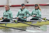 The Boat Race season 2018 - Women's Boat Race Trial Eights (CUWBC, Cambridge): Wingardium Leviosa with 3-Pippa Darkin, 2-Sarah Carlotti, bow-Lucy Pike. River Thames between Putney Bridge and Mortlake, London SW15,  United Kingdom, on 05 December 2017 at 12:03, image #24