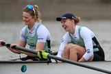 The Boat Race season 2018 - Women's Boat Race Trial Eights (CUWBC, Cambridge): Expecto Patronum; 3-Sally O Brien, 2-Millie Perrin. River Thames between Putney Bridge and Mortlake, London SW15,  United Kingdom, on 05 December 2017 at 12:38, image #39